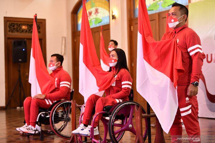 Atlet dari tiga cabang olahraga bertolak ke Tokyo