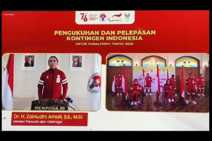 Menpora lepas kontingen Indonesia ke Paralimpiade Tokyo