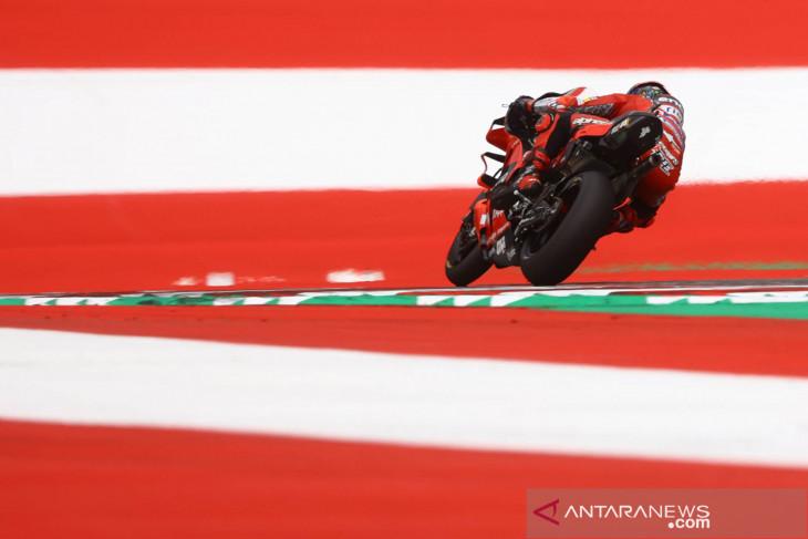 Bagnaia rebut pole GP Aragon dengan rekor lap baru