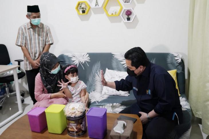 Erick Thohir minta BUMN sisihkan dana CSR untuk bantu anak karyawan