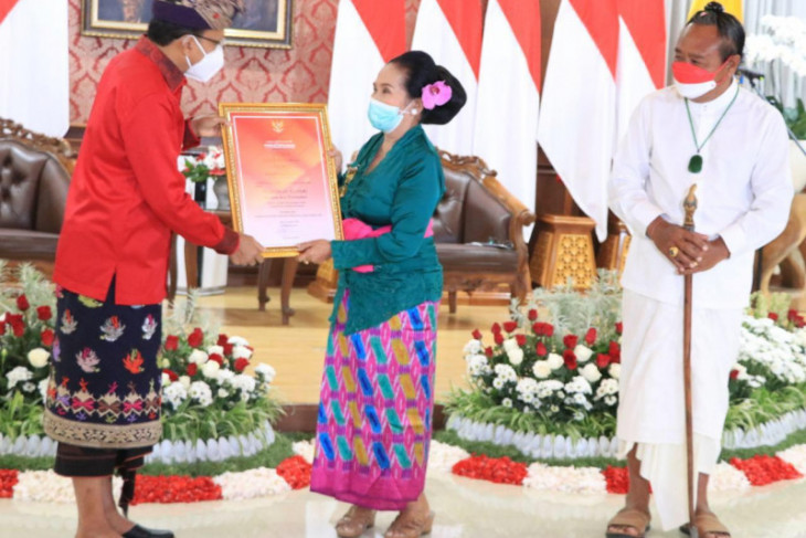 Empat seniman Bali dianugerahi Dharma Kusuma