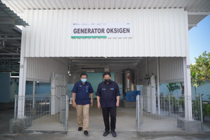 Menteri BUMN aktifkan unit produksi oksigen di Gresik
