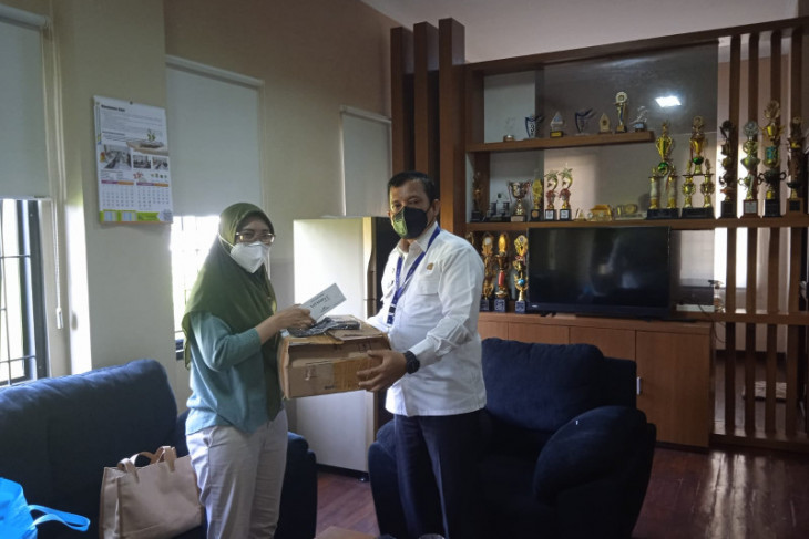 Pemkab Tangerang terima bantuan masker hingga vitamin dari Lippo Karawaci