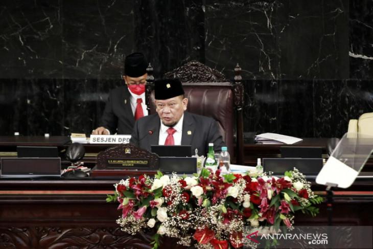 Ketua DPD RI singgung peran Kerajaan Nusantara di sidang tahunan