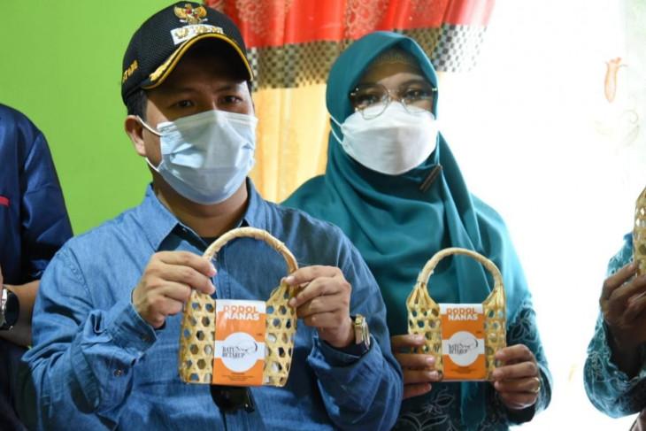 Bupati Sambas dukung PKK Tempapan kembangkan produk hilir nanas