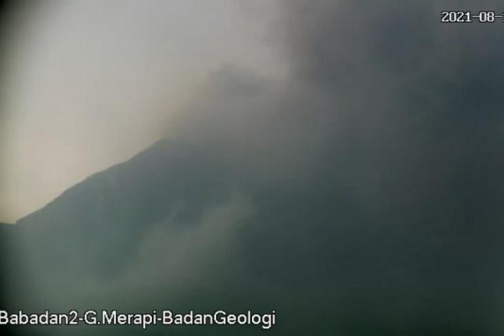 Gunung Merapi meluncurkan awan panas guguran sejauh 3,5 km