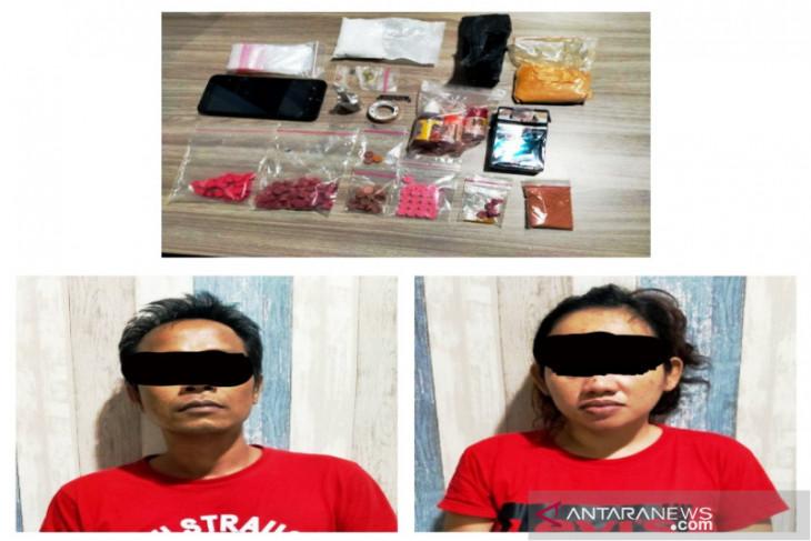 Satresnarkoba Banjarmasin ungkap kasus industri rumahan pembuatan pil diduga ekstasi
