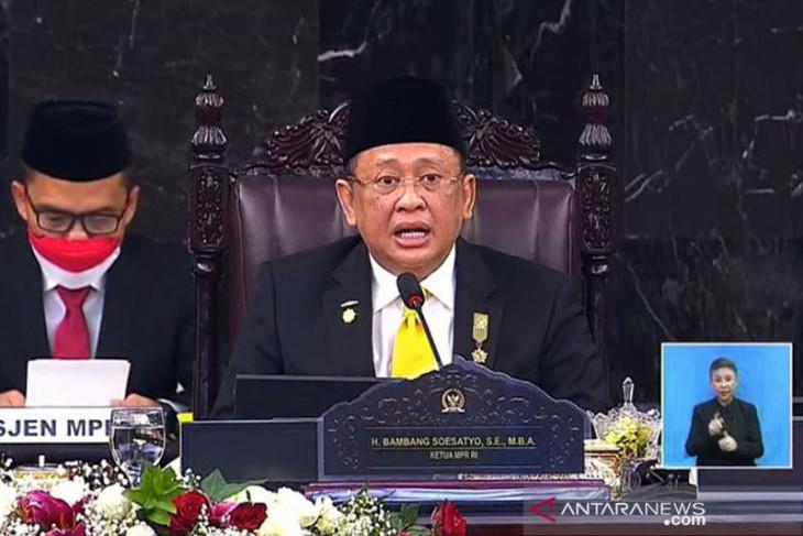 Bambang Soesatyo buka Sidang Tahunan MPR RI