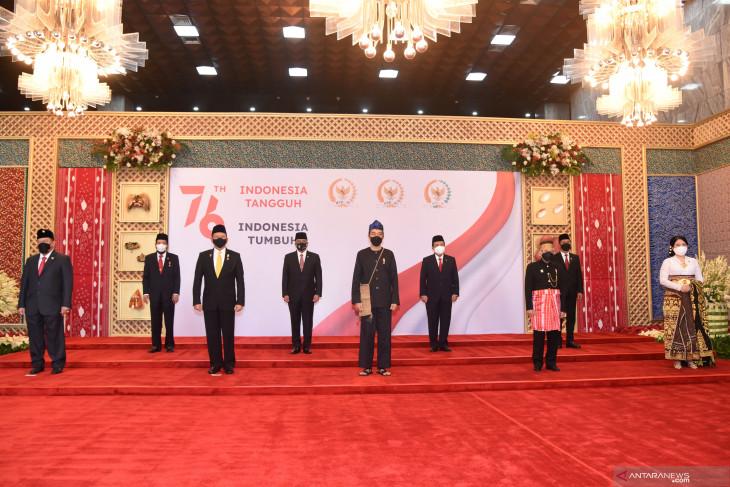 Presiden kenakan pakaian adat Suku Baduy di Sidang Tahunan MPR