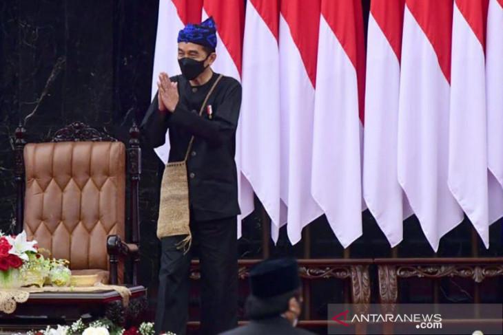 Ripple effect of President Joko Widodo's Baduy attire