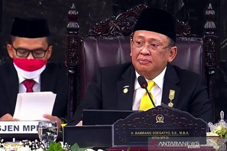 Ketua MPR Bambang Soesatyo dukung paket kebijakan pemerintah atasi pandemi COVID-19