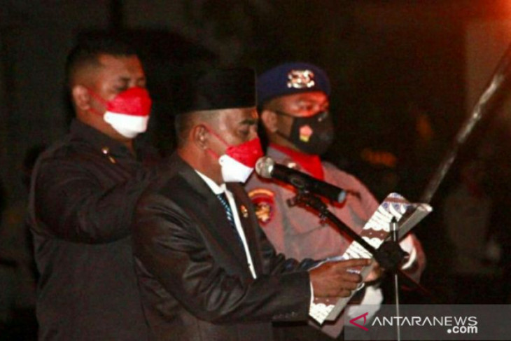 Ketua DPRD Belitung pimpin apel kehormatan dan renungan suci