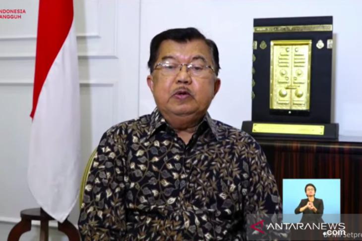 JK kecam keras aksi pembakaran mimbar Masjid Raya Makassar jaga NKRI