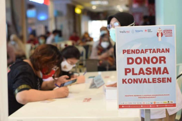 Tangcity Mall- PMI gelar gerakan donor plasma target 240 kantong
