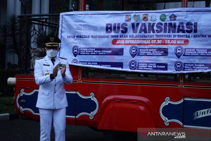 Kota Bogor perkenalkan Satgas Vaksinasi untuk kejar target 100 persen
