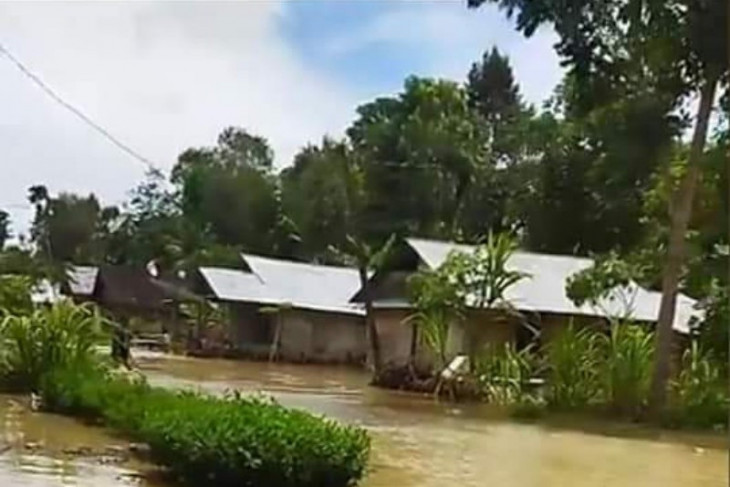 Ratusan rumah di Kabupaten Nias  terendam banjir