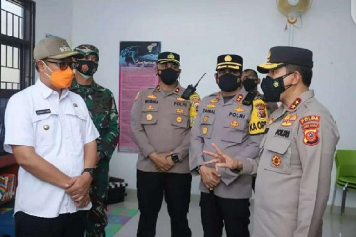 Kapolda Jabar apresiasi penerapan PPKM di Kota Sukabumi