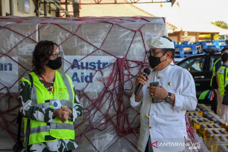 Pemprov Bali terima bantuan 2.400 ventilator dari Australia
