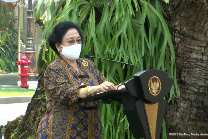 Megawati: Negara akan ambruk jika ubah ideologi