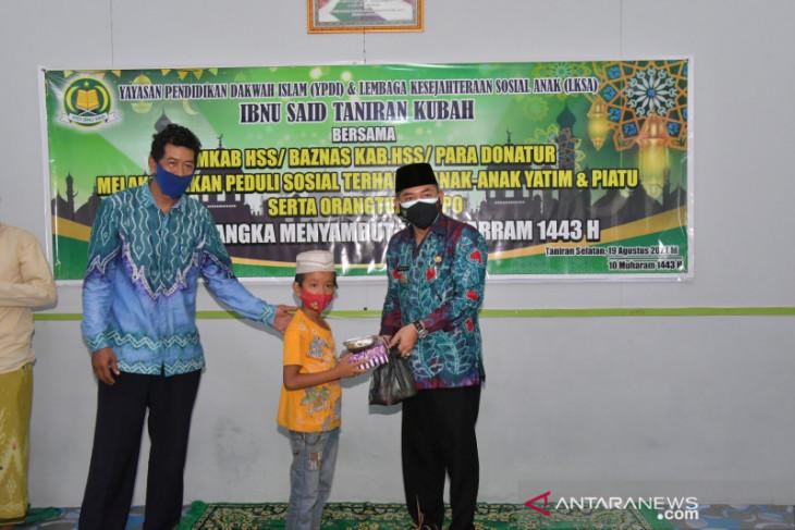 Wabup HSS berbagi bersama anak yatim Ibnu Said Taniran