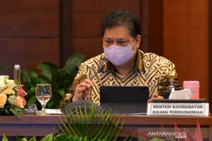 RI surplus, Airlangga : Ada penguatan fundamental pemulihan ekonomi