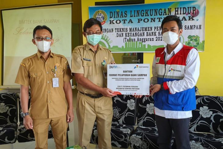 Pertamina inisiasi semangat pengelolaan sampah di Kota Pontianak