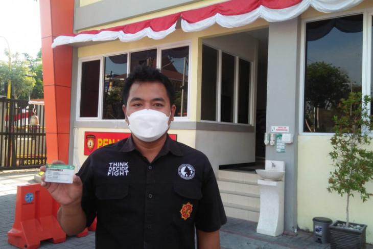 Anti-panik dampingi persalinan istri dari anggota Polres Gresik gunakan JKN-KIS