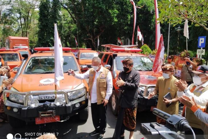 Kepala BNPB luncurkan Gerakan Mobil Masker untuk kabupaten/kota di Provinsi Bali (video)