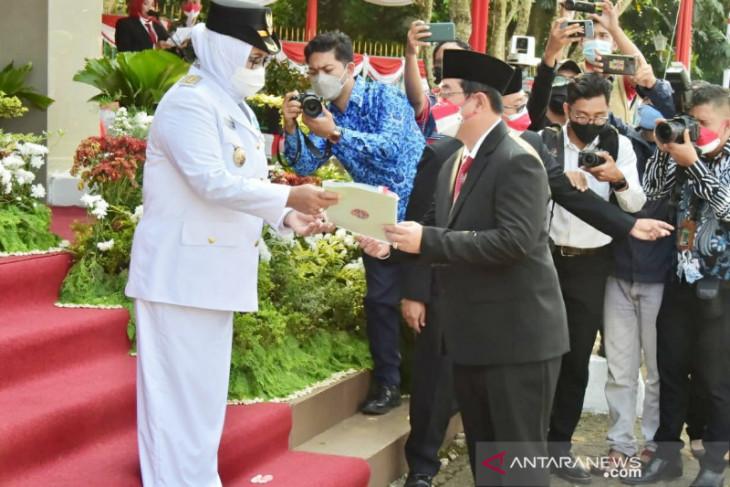 Pemkab Bogor terima sertifikat tanah sebanyak 178 bidang