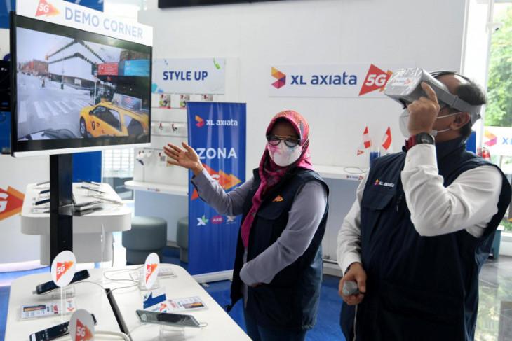 XL Axiata kenalkan layanan 5G di empat kota