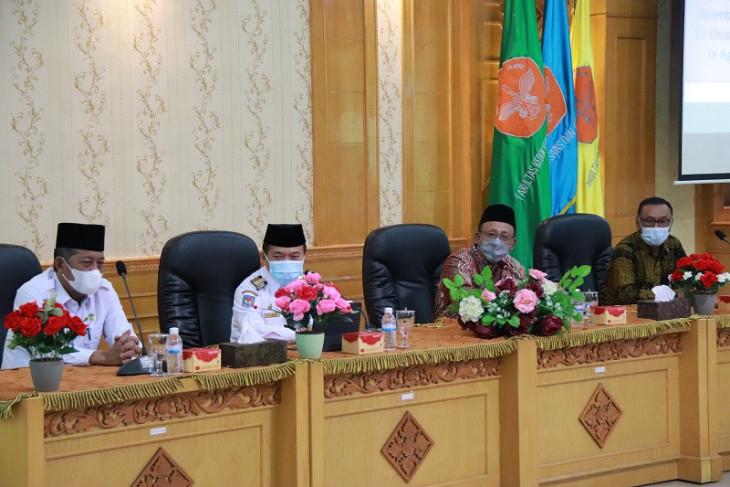 Gubernur Al Haris kunjungi Universitas Jambi