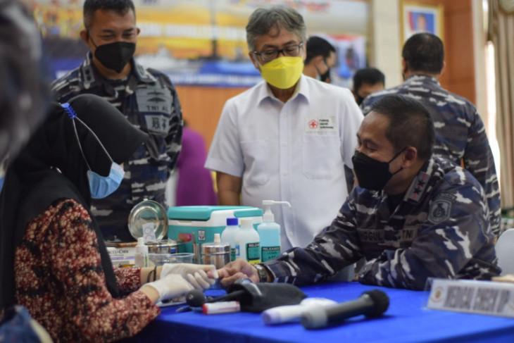 Seskoal - PMI Kota  Tangerang gelar donor plasma bantu pasien COVID-19