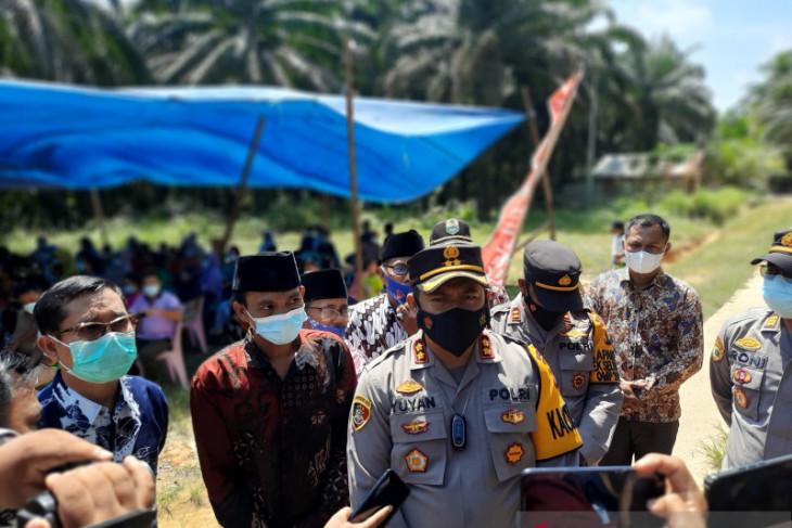 Vaksinator Polres Muarojambi vaksin 323 warga dalam sehari