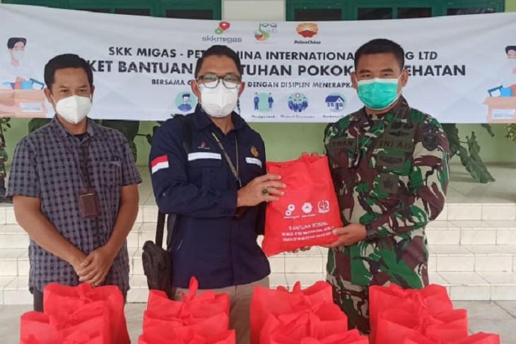 SKK Migas PetroChina dan Kodim Tanjab sinergi bantu warga terdampak pandemi