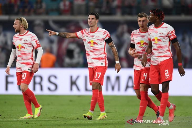 Leipzig petik kemenangan perdana era Jesse Marsch, hajar Stuttgart 4-0