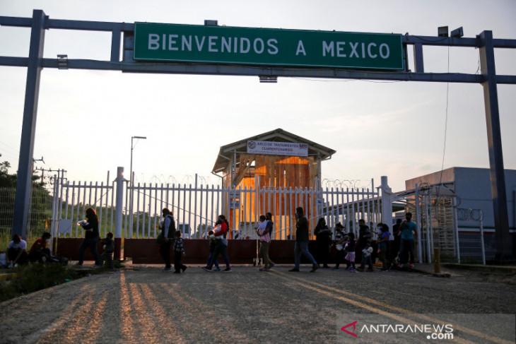 Protes migran di Meksiko: 'Kami bukan penjahat'
