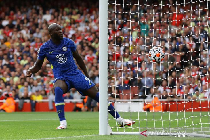 Liga Inggris: Lukaku cetak satu gol saat Chelsea gasak Arsenal