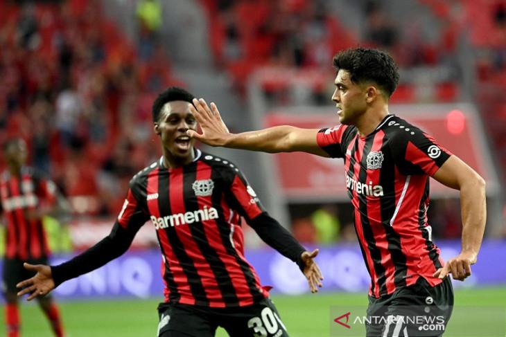 Leverkusen tampil klinis saat cukur habis Gladbach 4-0