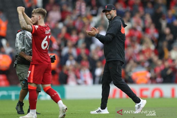 Liverpool rebut puncak, Brighton posisi kedua