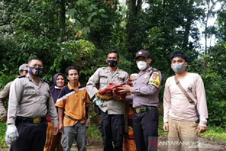 Polisi selidiki kasus penemuan bayi di hutan