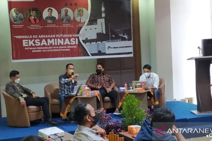 Paralegal Universitas Bengkulu eksaminasi putusan kasus PLTU batu bara