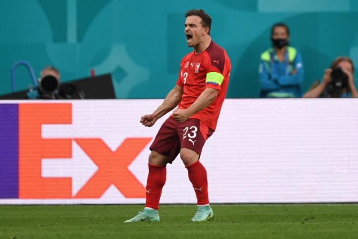 Lyon sepakat kontrak pemain Liverpool Xherdan Shaqiri