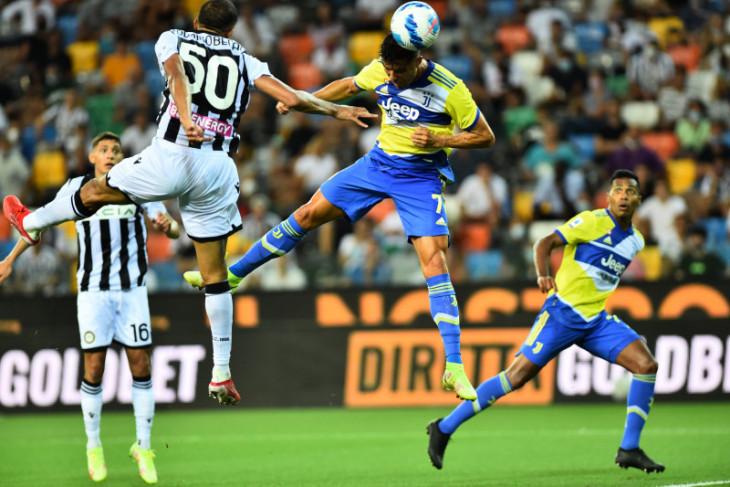 Gol Ronaldo dianulir VAR, Juventus gagal atasi Udinese