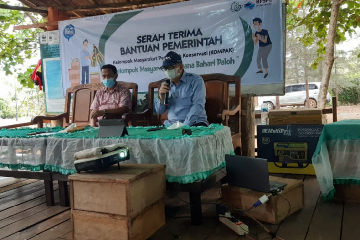 KKP salurkan bantuan konservasi Rp97,46 juta di Paloh