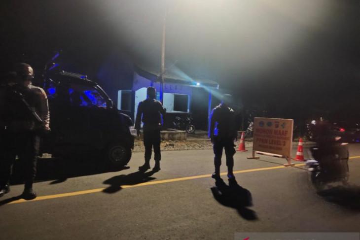 Polisi lakukan penyekatan perbatasan Kabupaten Boalemo-Pohuwato