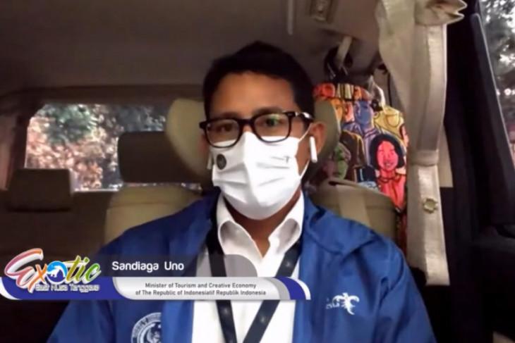 Menteri Sandiaga tekankan pentingnya aspek kesehatan di sektor pariwisata