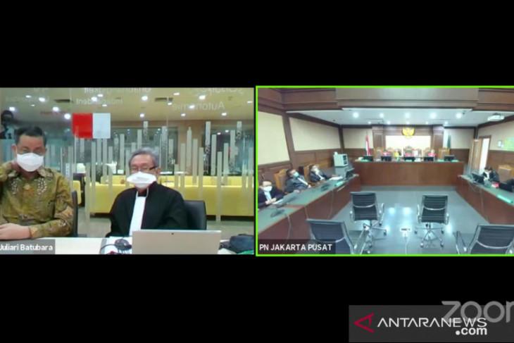 Hakim sebut Juliari Batubara
