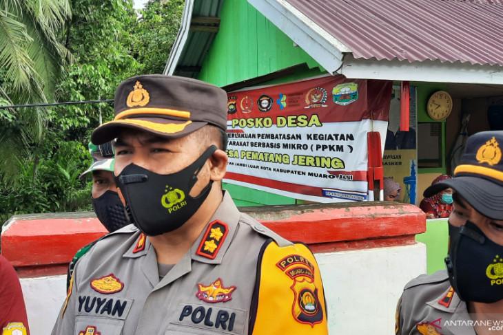 Polres Muarojambi dirikan lima posko PPKM penyimbang