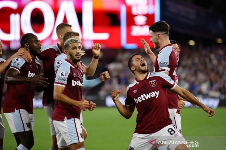Klasemen Liga Inggris: West Ham untuk pertama kalinya duduki puncak