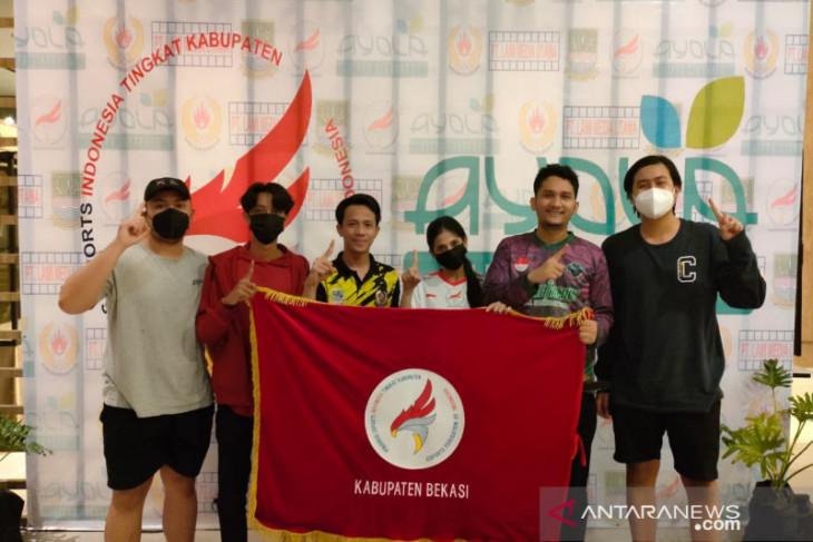Atlet Esport Bekasi kawinkan medali emas Piala Gubernur Jabar